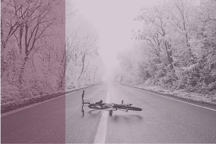 Soy ciclista y tengo un accidente: ¿qué puedo reclamar?