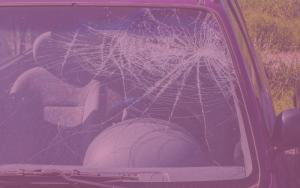 accidente de tráfico en coche compartido